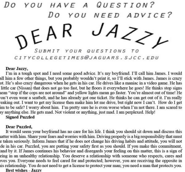 Dear Jazzy