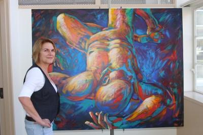 Mathias a woman of art
