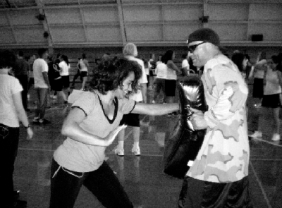 Self-defense classes are a hit