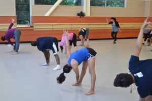 Students gets happy feet