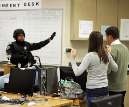 Breaking news: Report of an armed gunman on campus puts SJCC