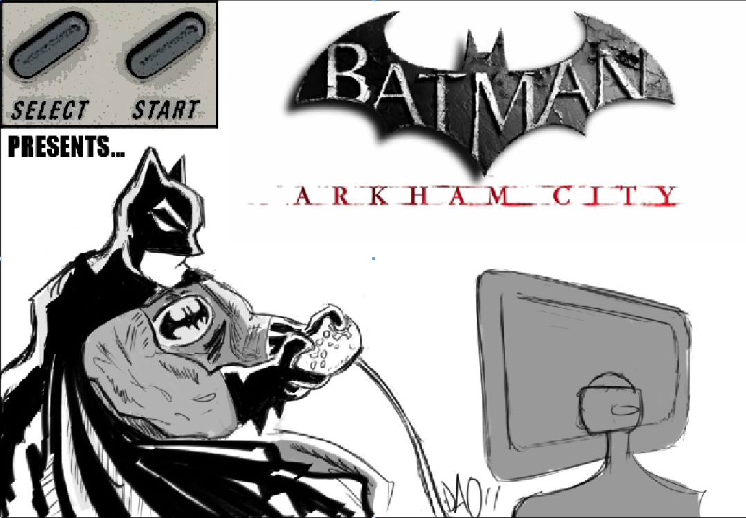 Select Start: 'Arkham City' opens its doors to the public