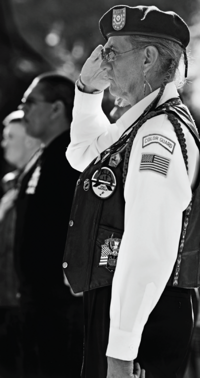 Campus celebration honors veterans