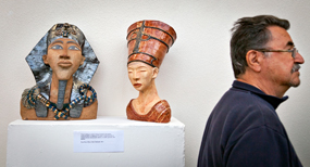 Five Women Sculptors show highlights campus talent