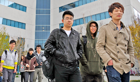 Students from Shanghai, China, visit San Jose City College