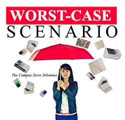 Bookstore:  Worst-case scenario