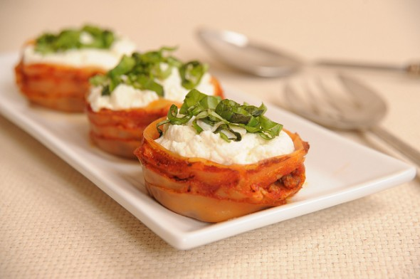 Recipe: Lasagna cupcakes