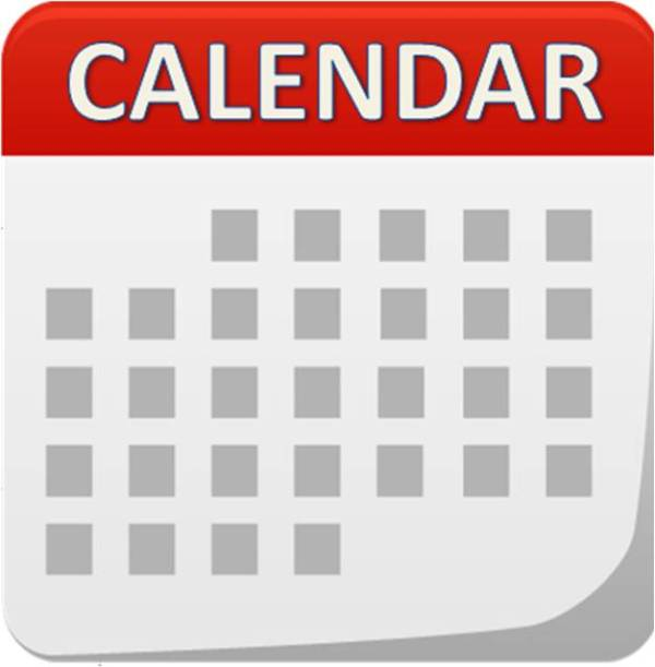 Calendar Graphic Icon : May calendar city college times