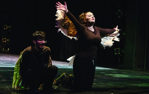 Climate change play swoops in and lands