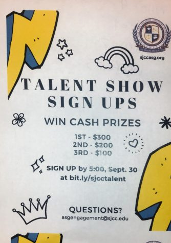 Show off your talent at SJCC talent show audition