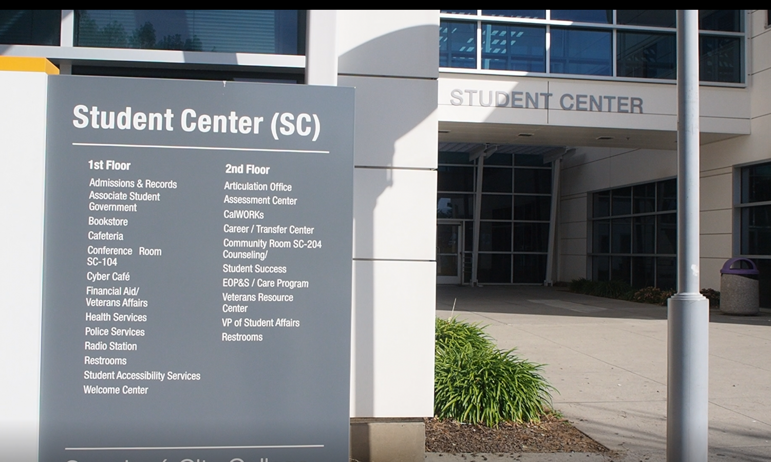 Student Services on Campus