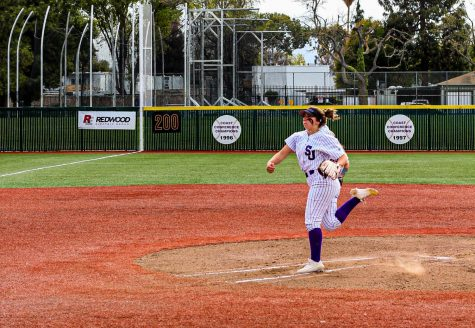 SJCC softball player named pitcher of the week