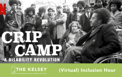 "The Kelsey will show parts of the documentary ""Crip Camp"" with a discussion afterward on the Zoom virtual platform March 31."