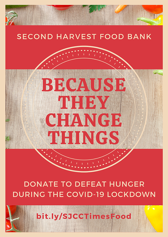 Second Harvest Food Bank supplies groceries to people in need.