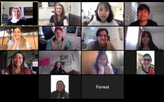 The City College Times journalism class say their good-byes at the last class meeting via Zoom on May 22.