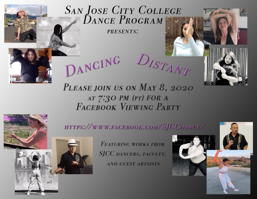 The SJCC Dance Department presents its first virtual performance on May 8.