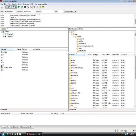 FileZilla FTP client allows allows people to download resources onto their computer that will optimize their software.