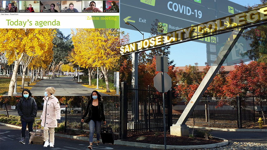 California schools closed in March because of the pandemic and all classrooms switched to online learning. Some international students had to return to their home countries to study online to reduce their living expenses.