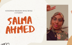 """""""One piece of advice I can give to fellow Muslim students is to use Ramadan to connect with the spiritual side of you to relieve some stress caused by school, it's the perfect time to do so,"""" Salma Ahmed said."""