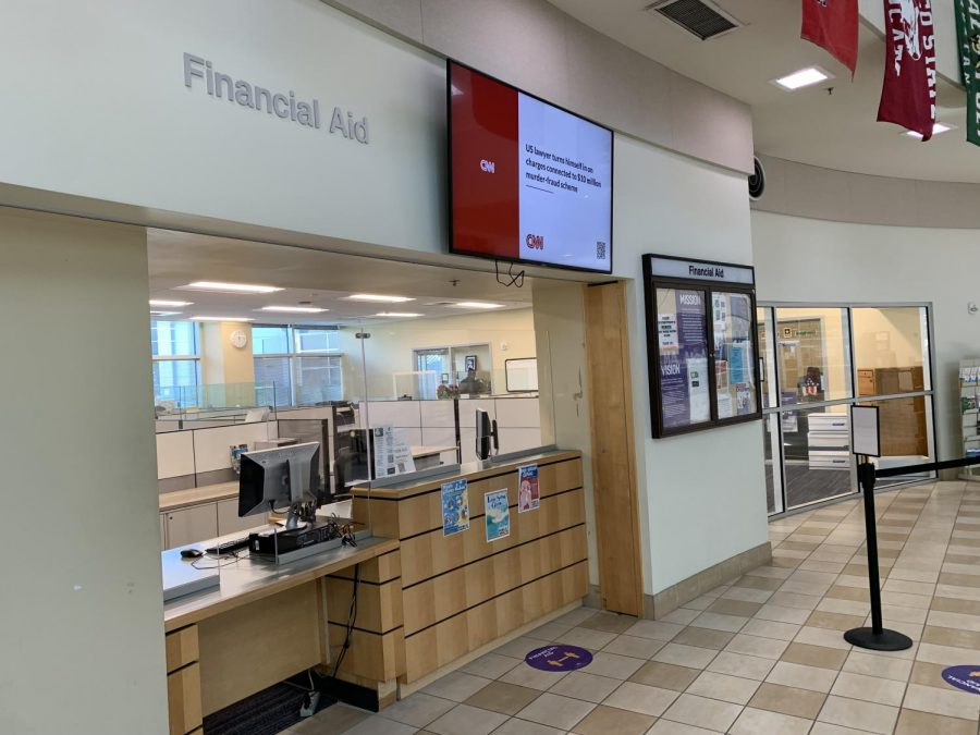 Students can receive information about the Federal Work-Study program by visiting the Financial Aid office in the first floor of Student Center.